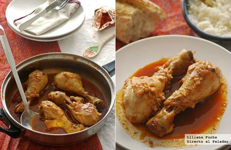 Receta de pollo paprika de inspiración húngara