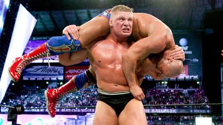 Lesnar Angle