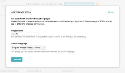 El servicio de traducción de aplicaciones de Google, ya está disponible para todos los desarrolladores