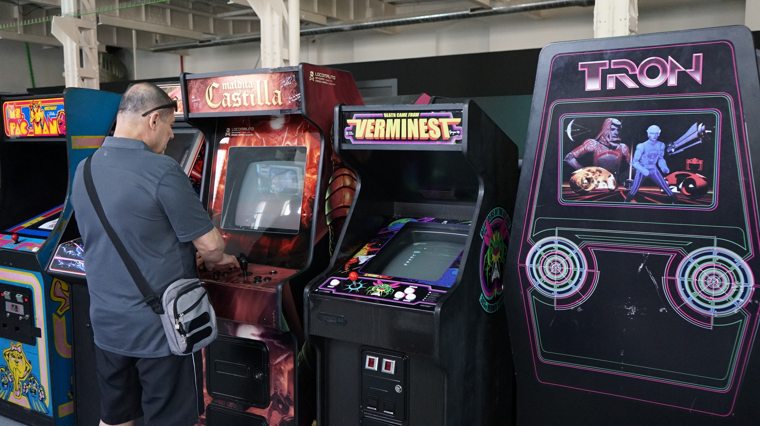 Museo máquinas Arcade