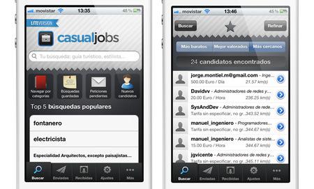 Una nueva bolsa de trabajo para freelances en el móvil