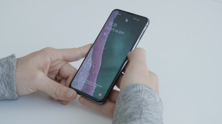 Samsung Galaxy S10e Review Lector Biometrico