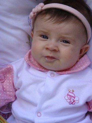 La foto de tu bebé: la simpática Marina