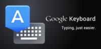 Teclado de Google 4.1 para Android, ahora con sincronización del diccionario y más novedades