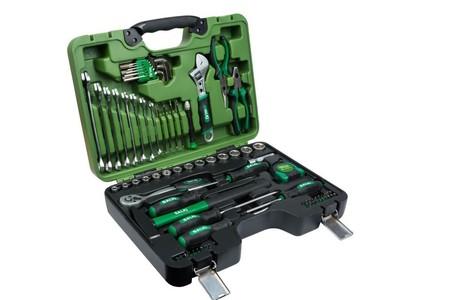 Todo lo que necesitas para chapuzas caseras por 54,95 euros con este  maletín de herramientas de 78 piezas Salki