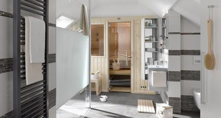 Sauna Dentro De Un Banorect