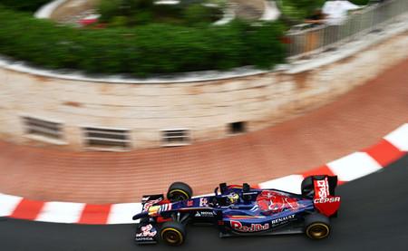Toro Rosso brilla en la sesión clasificatoria de Mónaco
