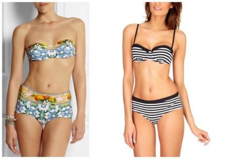 bikinis shorty bajitas evitar