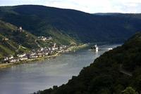 El río Rin pierde kilómetros