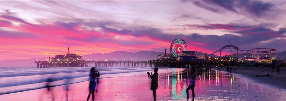 'Panola', un timelapse de Los Ángeles en formato panorámico real gracias al uso de dos cámaras