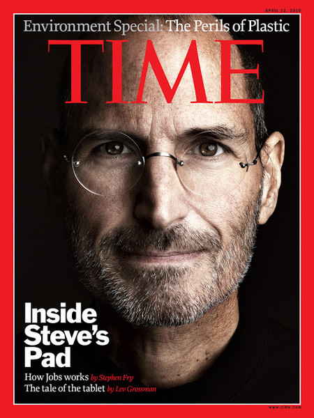 Steve jobs sesion fotos time