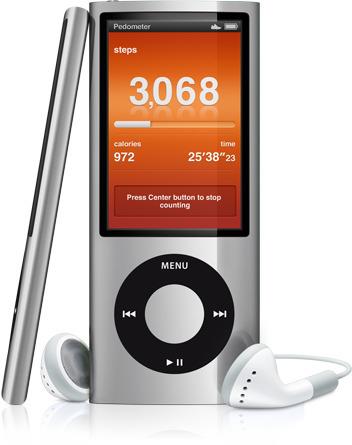 El nuevo iPod Nano viene con podómetro