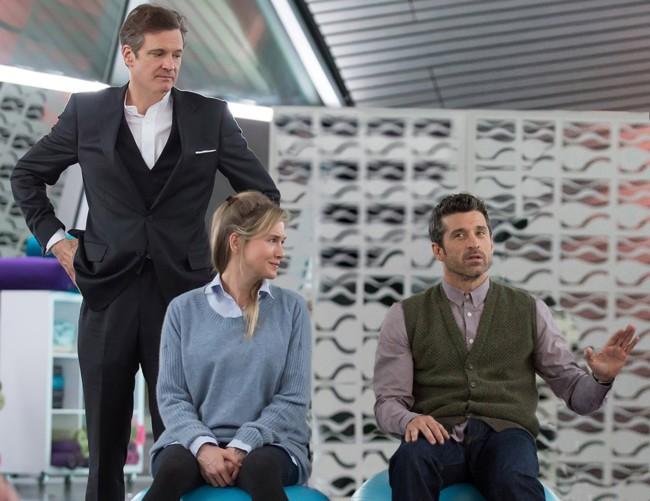 Colin Firth, Renée Zellweger y Patrick Dempsey