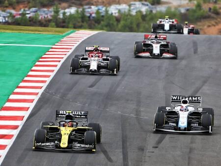 Ocon Russell F1 2020