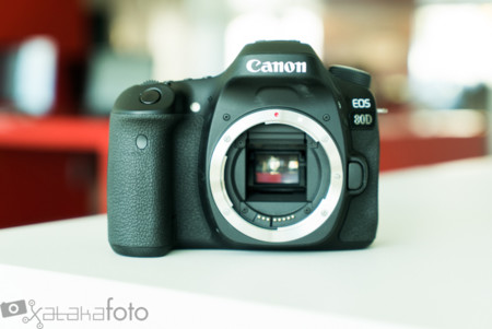 Canon EOS 80D: llega un relevo con más megapíxeles y puntos de enfoque