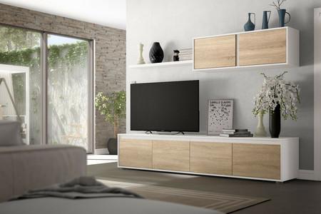 Decorar tu salón por completo es posible con este pack de muebles por 319 euros que encontrarás en eBay