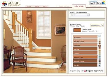 Asistentes virtuales para la elección del color