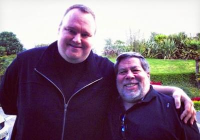 Kim Dotcom se reúne con Steve Wozniak y asegura que el proyecto MegaBox sigue vivo