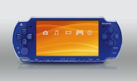 Nuevo color para PSP: Azul Metálico