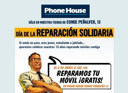 The Phone House, ´Reparaciones Solidarias` mañana en Madrid, ¡te lo arreglan gratis!