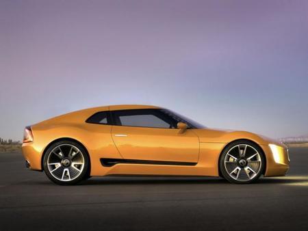 Kia GT4 Stinger, al desnudo