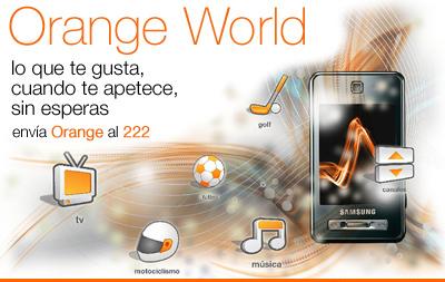 Orange: widgets y tienda de aplicaciones