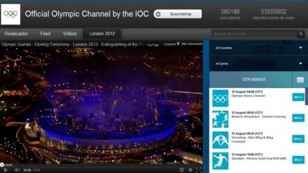 YouTube y su retransmisión de los  Juegos Olímpicos en cifras