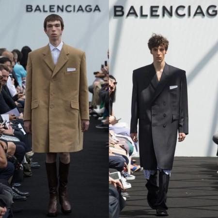 Balenciaga Primavera Verano 2017 Paris Fashion Week