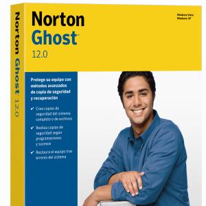 Norton Save & Restore 2.0 y Norton Ghost 12.0