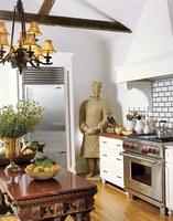 Una mala idea: poner un guerrero de Siam en la cocina
