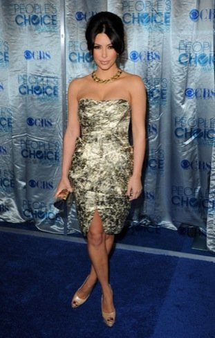 Peoples Choice Awards 2011: Kim Kardashian