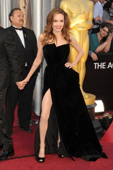 Angelina Jolie de Versace Atelier
