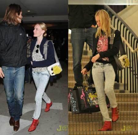 ¡Quiero los botines de Kate Bosworth!