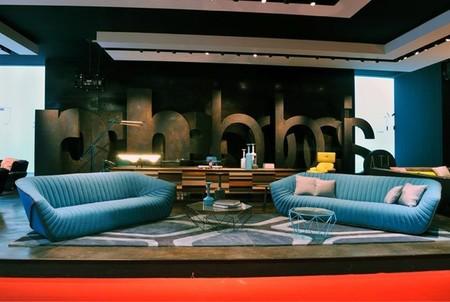 El sofá NAUTIL de Cédric Ragot para Roche Bobois, perfecto para una película de ciencia ficción