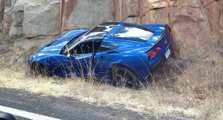 Dolorpasión™: El Chevrolet Corvette Stingray ya ha probado la dureza del muro