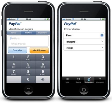 PayPal Movil para iPhone llega a España