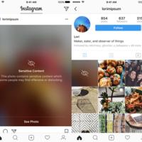 Instagram quiere proteger a sus usuarios, por lo que censurará el contenido sensible