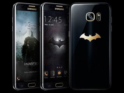 Fans de Batman, Samsung tiene el Galaxy S7 Edge que querréis poseer