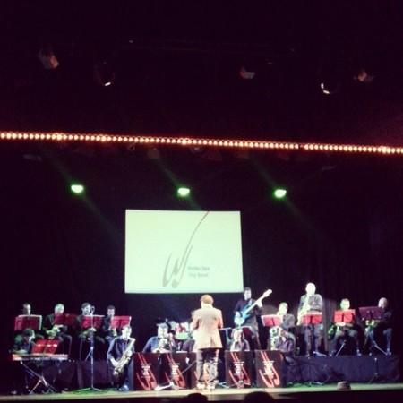 Ya ha arrancado el ciclo didáctico de la Walter Sax Big Band en el Teatro Sanpol de Madrid