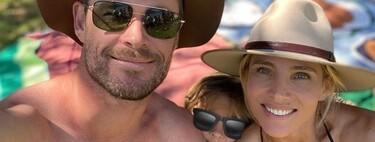 Elsa Pataky y Chris Hemsworth, el Thor del tobillo roto, y sus increíbles vacaciones con familia y amigos