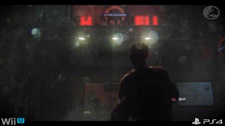 Comparativa grafica de ZombiU entre la versión de PlayStation 4 y Wii U