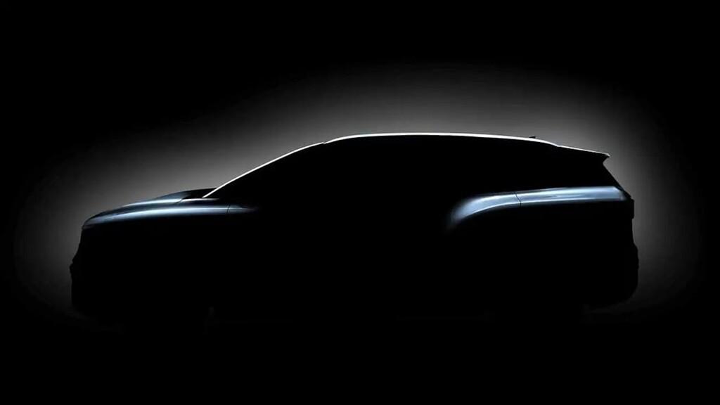El Volkswagen ID.6 enseña sus líneas: su nuevo eléctrico llegará con dos versiones y ofrecerá hasta siete plazas