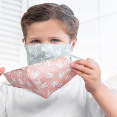 Siete mascarillas de niños reutilizables muy bonitas con las que poner la nota de color a la vuelta al cole