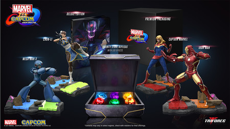 Marvel Vs Capcom Infinite Edicion Coleccionista