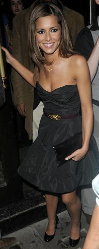 cheryl vestido negro