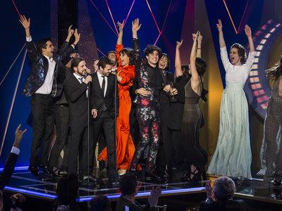 'El Ministerio del Tiempo' y 'Paquita Salas' arrasan en los Premios Feroz 2017