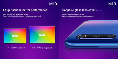 Xiaomi Mi 9 Camara