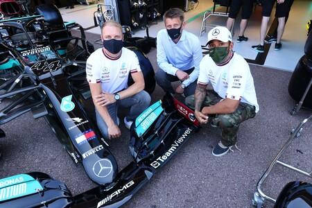 Bottas Hamilton Monaco F1 2021