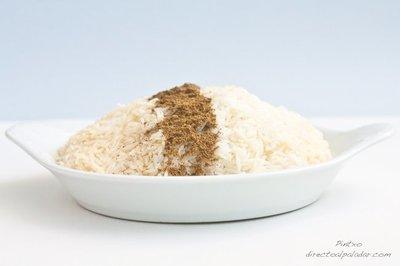 Receta de arroz árabe