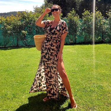 Paula Echevarría luce su vestido más atrevido y está en rebajas